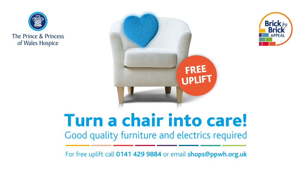 Furniture uplift for Glasgow's hospice
