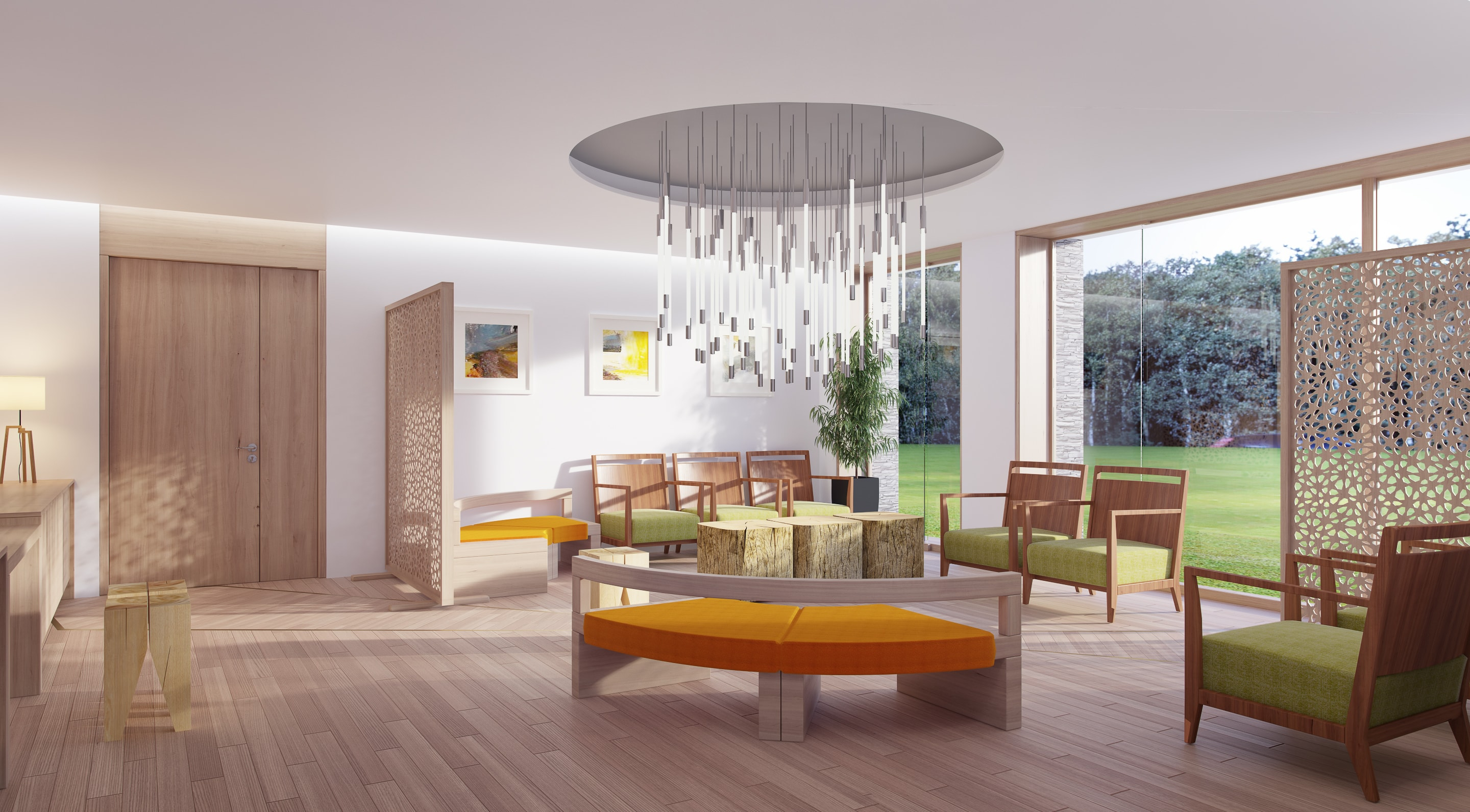 the new sanctuary at The Prince & Princess of Wales Hospice