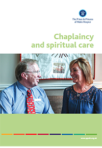 Chaplaincy leaflet containing useful information about how The Prince & Princess of Wales Hospice in Glasgow offers piritual and religious support. When facing the emotional difficulties of serious illness, we are available to listen, guide and support. Our chaplain, The Reverend Leslie Edge, and his team are there for patients, families, carers and friends