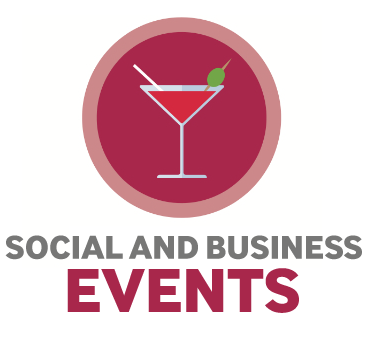 business and social events for glasgows hospice