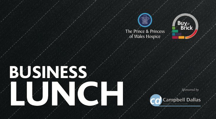 Business Lunch supporting The Prince & Princess of Wales Hospice in Glasgow