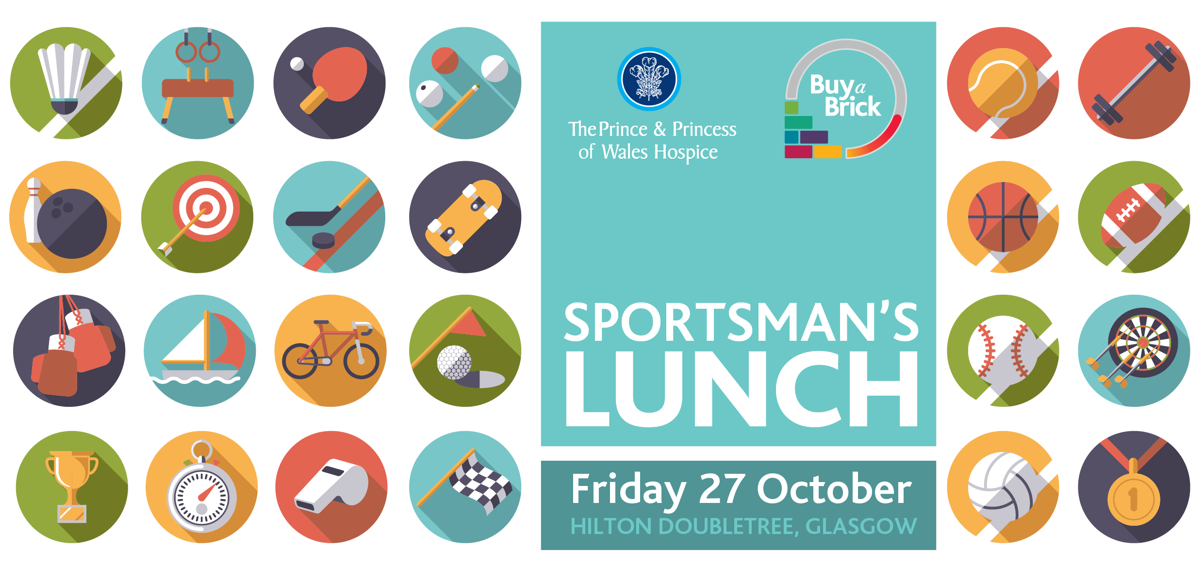 Sportman's Lunch taking place on Friday 27 October