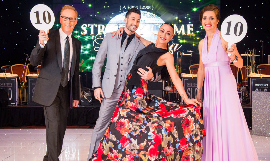 Giovanni Pernice from the top-rating BBC Television series Strictly Come Dancing wowed fans when he took to the dancefloor at Glasgow Hilton with dance partner Luba Mushtuk to help raise money for The Prince & Princess of Wales Hospice